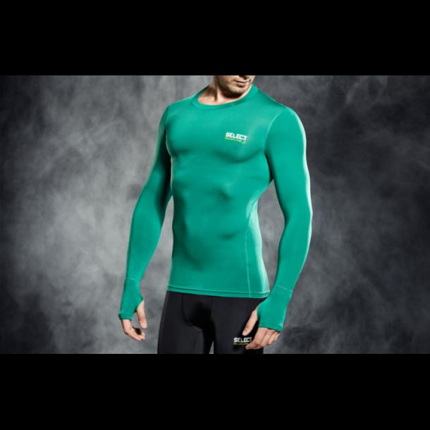 Select 6902 Kompressions T-Shirt med Lange Ærmer